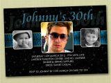 18th Birthday Invitations Male Personalised Birthday Invitations 16th 18th 21st 30th You