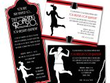 1920s Style Party Invitations Speakeasy Prohibition theme On Pinterest