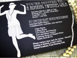 1920s themed Birthday Invitations Hosting A Roaring 20s theme Party Costume and Party Ideas