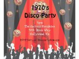 1970s Party Invitations 1970 39 S Disco Party Invitation Zazzle