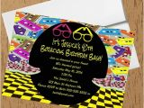 1980s Birthday Party Invitations 1980s Bodacious Birthday Party Invitations Crafty Chick