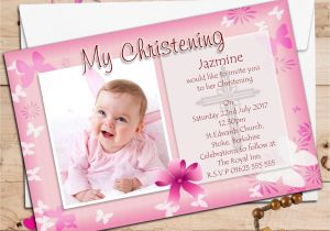 1st Birthday and Baptism Combined Invitations 1st Birthday and Baptism Invitations 1st Birthday and
