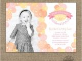 1st Birthday Brunch Invitations Bubbles and Brunch Invitation Bubble Birthday Party