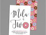 1st Birthday Brunch Invitations Donut Birthday Invitation Rise Shine It 39 S by