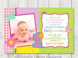 1st Birthday butterfly Invitation Wording butterfly 1st Birthday Invitation Diy Custom by