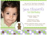 1st Birthday Invitation Card Matter 1st Birthday Invitation Card Matter In Marathi Various