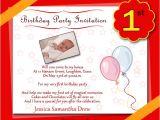 1st Birthday Invitation Card Wordings 1st Birthday Party Invitation Wording Wordings and Messages