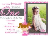 1st Birthday Invitation Cards Models First Birthday Invitation Card Template Best Sample