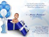 1st Birthday Invitation Ideas for A Boy Baby Boy First Birthday Invitations