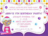 1st Birthday Invitation Letter Sample Birthday Party Invitation Card Sample