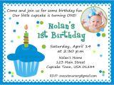 1st Birthday Invitation Sample First Birthday Invitation Wording Bagvania Free