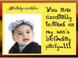1st Birthday Invitation Sms for Baby Boy Birthday Sms In Hindi In Marathi for Friends In English In