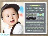1st Birthday Invitations Boy Templates Free Best 25 Mustache Invitations Ideas On Pinterest