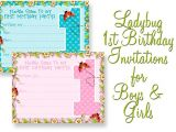 1st Birthday Invitations Free Printable Templates Girls Printable Party Kits