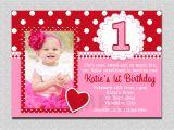 1st Birthday Invitations Templates Free First Birthday Party Invitation Ideas – Bagvania Free