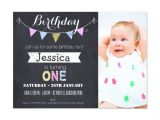 1st Birthday Invitations Templates Free Free First Birthday Invitations Girl