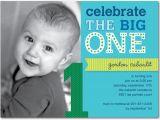 1st Birthday Party Invitation Templates 16 Best First Birthday Invites Printable Sample