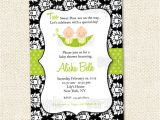2 Peas In A Pod Baby Shower Invitations Two Peas In A Pod Baby Shower Invitation by Lollipopprints