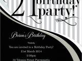 21 Birthday Invitations Free 21 Birthday Invitation
