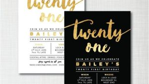 21 Birthday Invitations Free 25 Best Ideas About 21st Birthday Invitations On