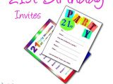 21 Birthday Invitations Free Printable 21st Birthday Party Invitations