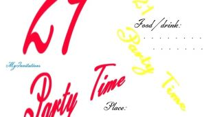 21st Birthday Invitation Templates Free Printable 21st Birthday Invitation Template