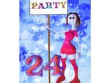 "24th Birthday Invitations 24th Birthday Party Sign Board Invitation 5"" X 7"