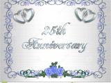 25th Wedding Anniversary Invitation Cards Free Download Wedding Anniversary Invitation Template Free