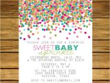 2nd Baby Boy Shower Invitations Sprinkle Second Baby Shower Invitation Pink by