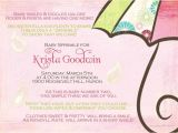 2nd Baby Girl Shower Invitations Second Baby Shower Invitation Wording