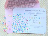 2nd Baby Girl Shower Invitations Sprinkles Baby Shower House Of Jade Interiors Blog