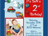 2nd Birthday Invitation Message for Boy 2nd Birthday Invitations Boy A Birthday Cake