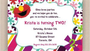 2nd Birthday Invitation Quotes Stylish 2nd Birthday Party Invitation Wording Elmo World