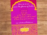 2nd Birthday Invitation Wording Indian Style India Indian Food Party Invitation