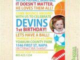 2nd Birthday Party Invitations Boy 2nd Birthday Boy Party Invitation Boys Sport and Balls