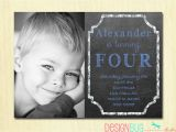 3 Year Old Boy Birthday Party Invitations Birthday Baby Boy Invitation 1 2 3 4 5 Year Old