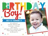3 Year Old Boy Birthday Party Invitations Having A Ball 4×5 Invitation Card Birthday Invitations
