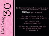30th Birthday Invitations Templates Free Free Printable 30th Birthday Party Invitation Templates
