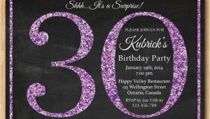 30th Birthday Party Invitations for Her 20 Interesting 30th Birthday Invitations themes Wording