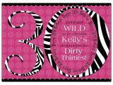 30th Birthday Party Invitations for Her 30th Birthday Invitations for Her A Birthday Cake