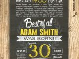 30th Birthday Party Invitations for Him 30th Birthday Invitation Surprise 30th Birthday by