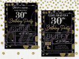 30th Birthday Party Invitations for Him 30th Birthday Invitations for Him Lijicinu 6df194f9eba6