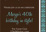 40th Bday Party Invites 9 Best Of Men 40th Birthday Invitations Printable