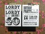 40th Birthday Invitation Ideas 40th Birthday Party Invitations theruntime Com