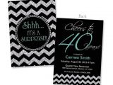 40th Birthday Invitations Female 40th Birthday Invitation for Women Cheers to 40 Years