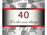 40th Birthday Invitations Female 40th Birthday Invites for Women 40th Birthday