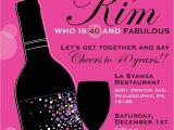 40th Birthday Invitations Female Birthday Professional Print Web Design
