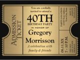 40th Birthday Invitations Free Templates 25 40th Birthday Invitation Templates Free Sample