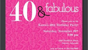 40th Birthday Invitations Free Templates 40th Birthday Invitations Birthday Party Invitations