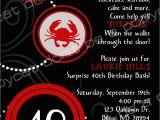 40th Birthday Invitations Wording 40th Birthday Invite Wording Surprise